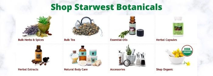 Shop Starwest Botanicals