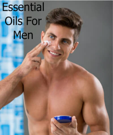 Man apply cream to face | Easy Aromatherapy Recipes For Men