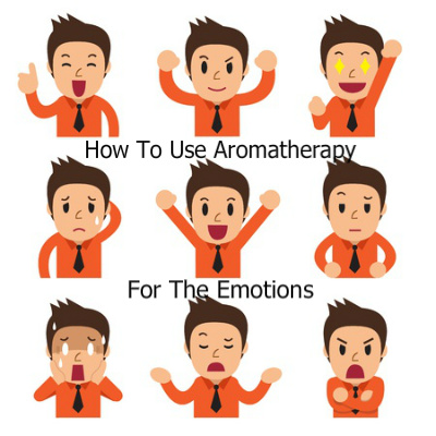 Carton showing varying emotions | Aromatherapy for the Emotions