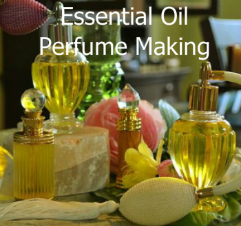 Essential Oil Perfume Making