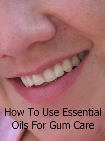 Essential Oils for Gums