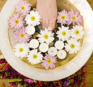 Aromatherapy Foot Bath