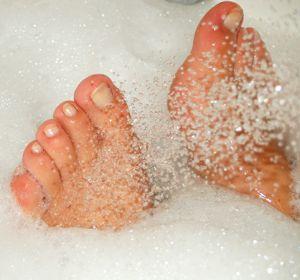 Homemade Foot Soak Using Essential Oils