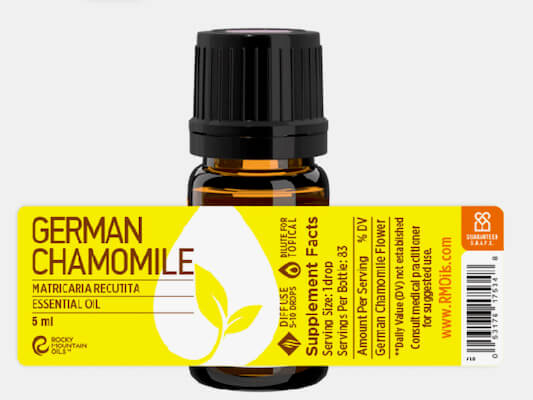 Buy Rocky Mountain German Chamomile Essential Oil