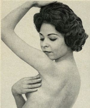 Woman Using Homemade Deodorant