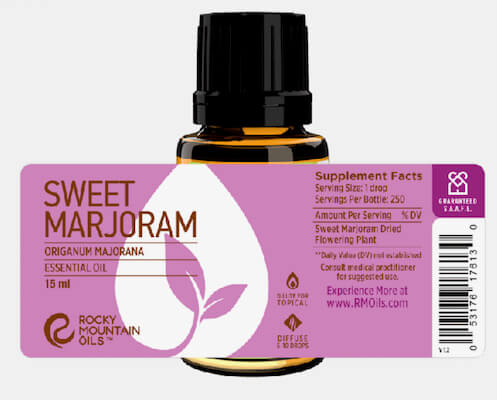 Buy Rocky Mountain Sweet Marjoram Essential Oil