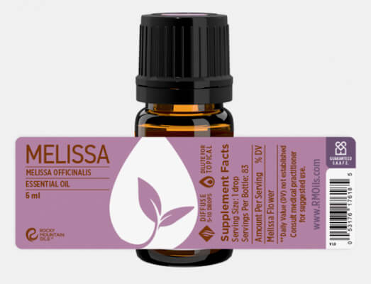 Buy Rocky Mountain Melissa Essential Oil