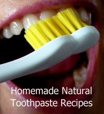 Brushing Teeth |  Natural Toothpaste Recipe