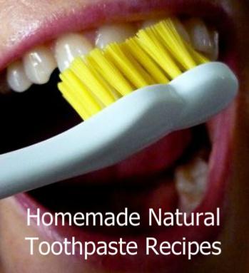 Brushing Teeth |  Natural Toothpaste Recipe