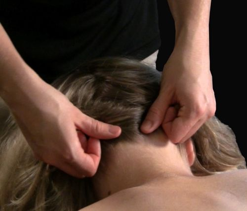 Massaging the Neck