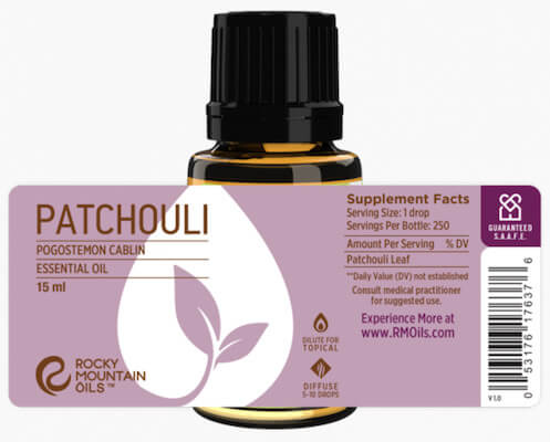 Buy Rocky Mountain Patchouli Essential Oil
