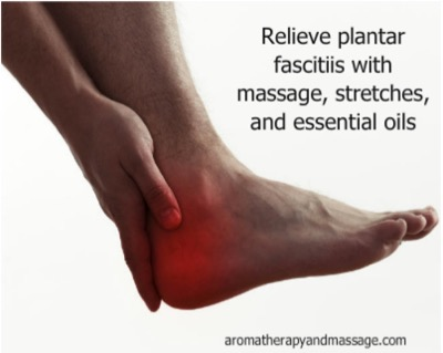 Foot with red showing heel pain | Treatment For Plantar Fasciitis