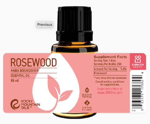 Buy Rocky Mountain Rosewood Essential Oil