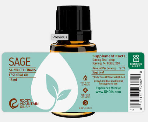 Buy Rocky Mountain Sage Essential Oil