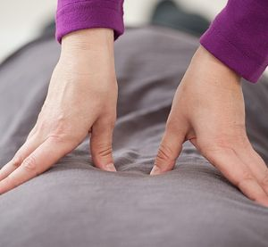 Shiatsu Massage Therapy on Back