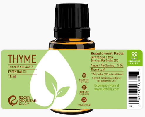 Buy Rocky Mountain Thyme Essential Oil