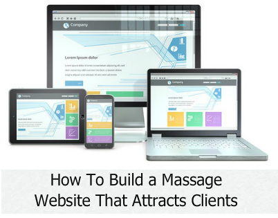 How to build a massage website that attracts clients