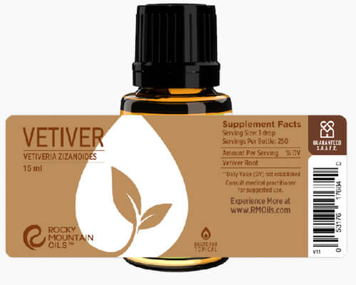 Buy Rocky Mountain Vetiver Essential Oil