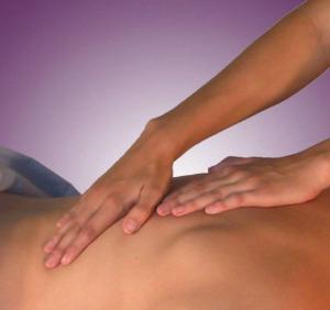 Swedish Massage Technique on Back