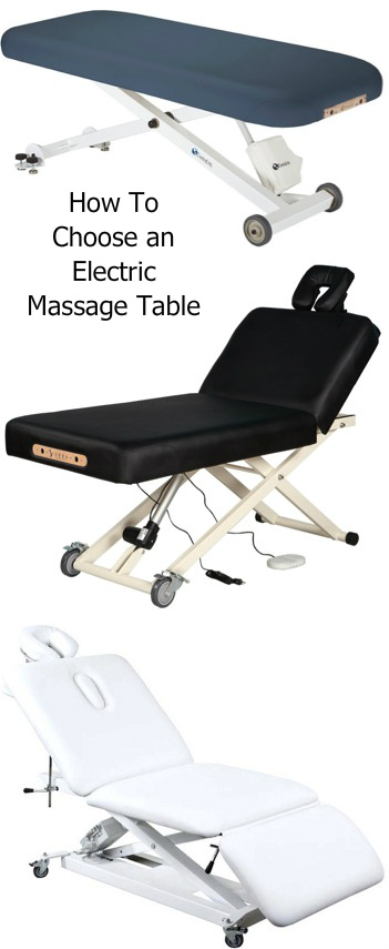 3 Types of Electric Massage Table