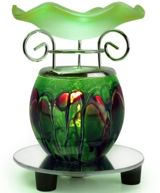 Green Electric Aromatherapy Oil Warmer