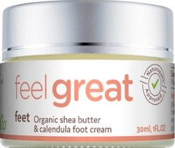 Click here to buy a shea butter foot cream