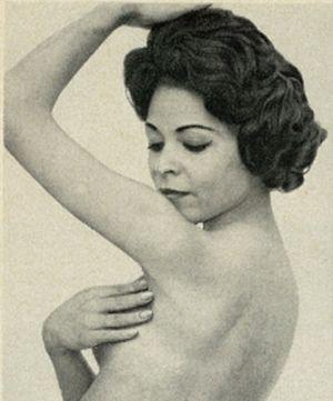 Woman Using Homemade Deodorant