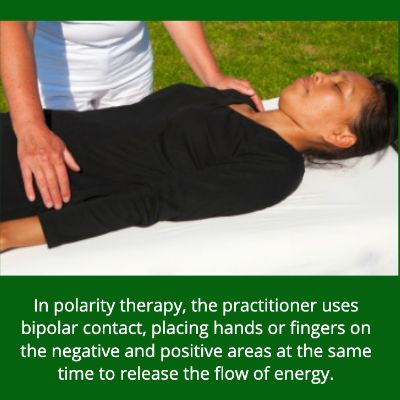 Polarity Therapy On Woman